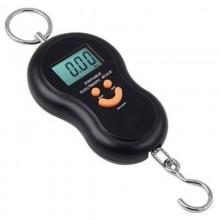 BILANCIA DIGITALE DA PESCA PESA VALIGIE DIGITALE LCD - PORTATA 40 KG DF 6092950