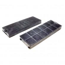 tecnowind coppia filtro cappa  cucina carbone attivo tipo k ack62260 F 312