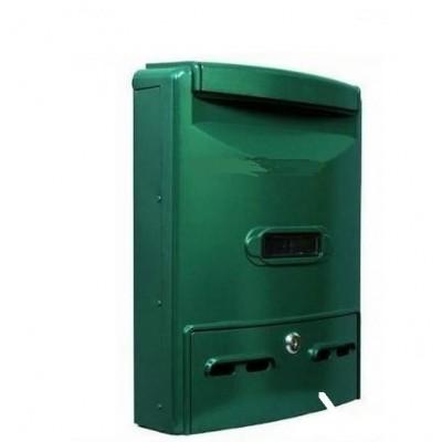 Cassetta Posta - Riviste In Alluminio Verde Con Apertura Superiore Ferr 25560