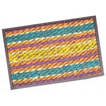Zerbino Brixo Stripes In Cocco Colorato  Cm 50 X 100 Fra 3091