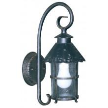 Lanterne Artefer Cilindrica In Ferro Battuto   25x45 Cm  Fra 11046