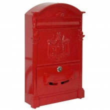 Villa Italia Cassetta Postale Colore Rosso L26xp9xh42.  Fra 48090