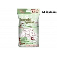 TAPPETINI IGIENICI 12 PZ. CM 600x60 CON ADESIVO  PET*   PRA 00907635