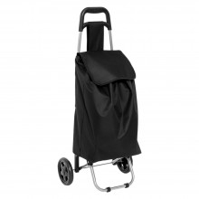 TROLLEY PORTASPESA 'CARRY' colore nero