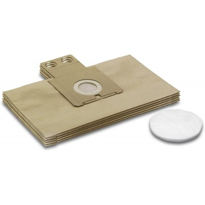 Kärcher 6.904-257   RC 3000   5 sacchetti filtro + 1 Microfiltro no originale *** KARO1