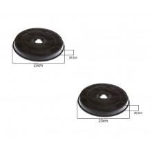 2 pz FILTRO CAPPA MERLONI ARISTON SMEG ELECTROLUX ZANUSSI H 26,5 mm Ø 23.2  F 38