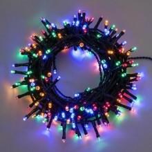 CATENA LINEARE MINILUCCIOLE A LED SERIE 'TL-C' 700 led multicolor - 30 mt. (28+2