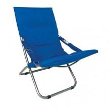 SEDIA SDRAIO 'STINTINO' tessuto blu royal  cm. 60x47xh.92. DF 6128740