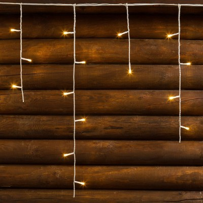 CATENA LINEARE DISCENDENTE A LED 'ICE LIGHT' 480 led l.calda - cm 2016 x h.60