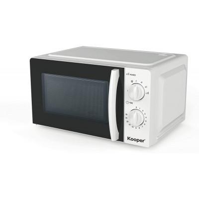 FORNO MICROONDE 'WAVE' 700 W -44,6x36xh.24,5 cm bianco PIATTO  Ø 24,5 cm.