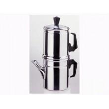 CAFFETTIERA NAPOLETANA 1 TAZZA IN ALLUMINIO CAFFE'  PRA 451107