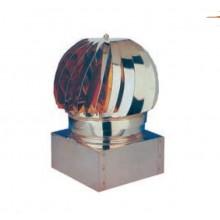 Fumaiolo Testa Radiante Girevole Cm.37 X 37 In Acciaio Inox Ferr  102353