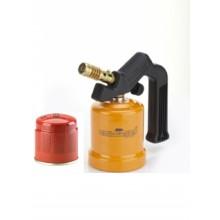 SALDATORE A GAS SU CARTUCCIA EUROCAMPING BASE METALLO NO PIEZO + CARTUCCIA