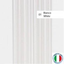 TENDA PER PORTA GOMMA NO RUMORE MOD MARINA CM 125 X 230 COLORE BIANCO ART 39