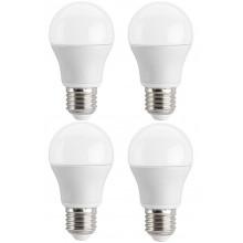 4 LAMPADINE A LED ATTACCO E 27 CONSUMO 10 W 6000 k  LUCE FREDDA LAMPADINA