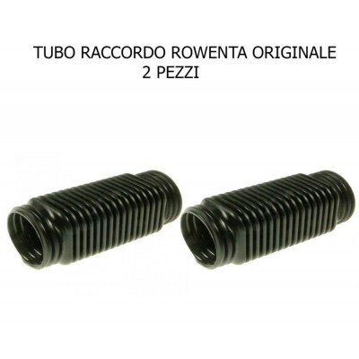 TUBO RACCORDO FLESSIBILE 10CM SPAZZOLA ROWENTA ORIGINALE - 2 PEZZI AT RS-RH5642