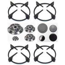 Fitting foster 4 griglie + 4 bruciatori + 4 spartifiamma g 1301 -  b 3617 s 0235