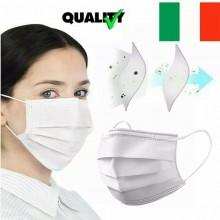 Mascherina IN 100% COTONE  SANIFICABILE Utilizzabili Piu Volte MADE IN ITALY